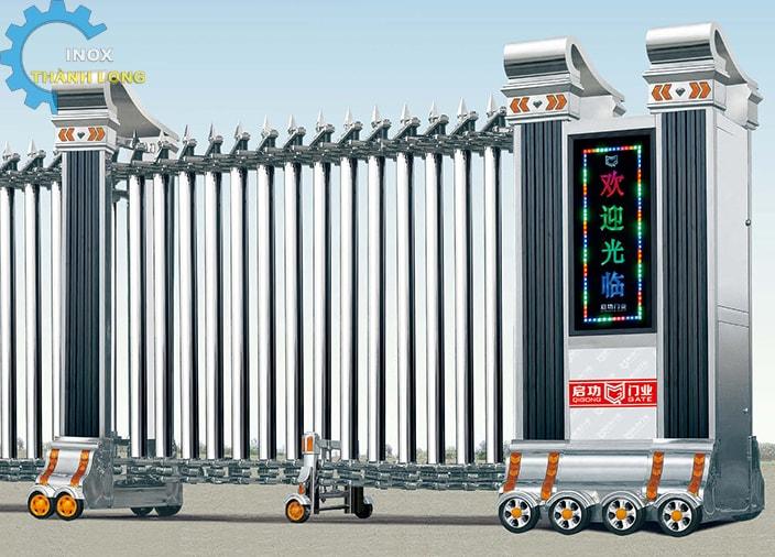 Công xếp inox nhập khẩu QG-J1609