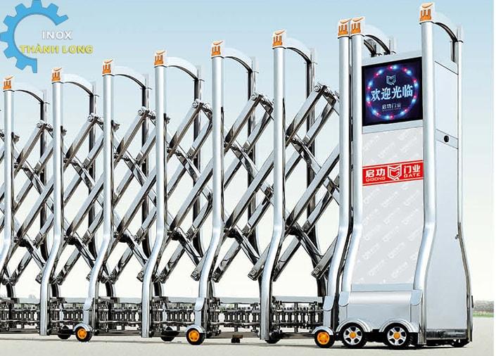 Công xếp inox nhập khẩu QG-J1623