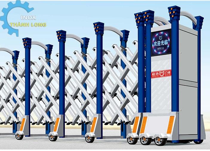 Cổng xếp nhôm nhập khẩu QG-L1607