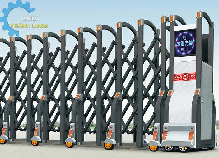 Cổng xếp nhôm nhập khẩu QG-L1623