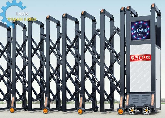 Cổng xếp nhôm nhập khẩu QG-L1625