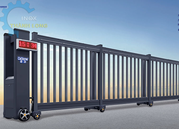 Cổng xếp nhôm nhập khẩu QG-D19B2
