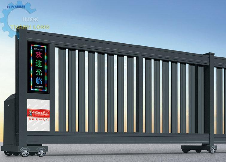 Cổng xếp nhôm nhập khẩu QG-P1560